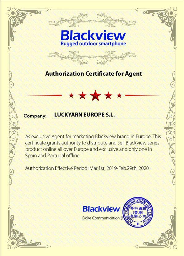 Distribuidor Oficial Blackview España y Portugal